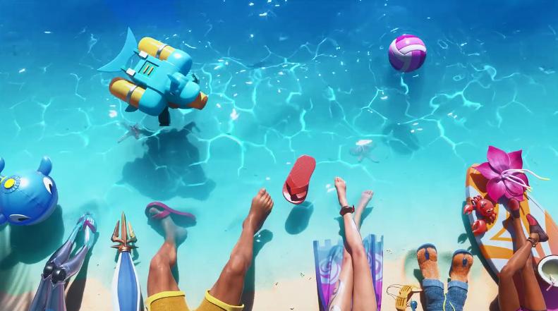 看腿识人?《英雄联盟》2020泳池派对先导预告片公开
