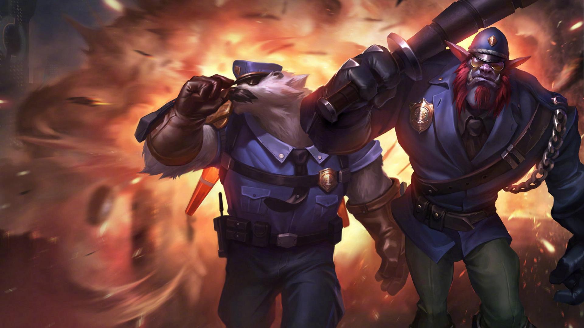 lol欧洲中单_英雄联盟狗熊重做原画图片_LOL高清图片大全_牛撸网