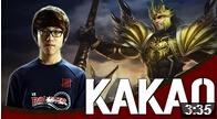Kakao打野皇子对战猴子 精准EQ带全场节奏
