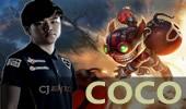 CoCo中单炸弹人第一视角 大战Faker鱼人