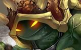 厂长打野龙龟第一视角 翻滚的光速龙龟侠!