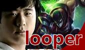 looper上单炼金第一视角 传送团战美如画