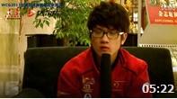 WCG2013世界总决赛专访WE战队若风 卷毛 诺言