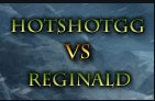 美服高玩HotshotGG vs Reginald中路单挑视频