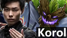 Koro1上单大树vs死歌:实力1抗5 肉到你绝望!