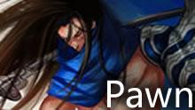 Pawn中单亚索:单杀+支援 hold队伍崩盘前期!