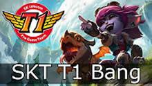 SKT Bang小炮第一视角 对线女枪暴力压制!