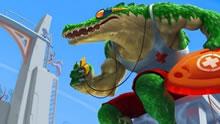 YD上单鳄鱼 一个Q疯狂输出,全家爆炸!