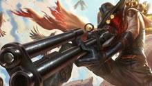 英雄联盟灵异系列:100%暴击无限子弹的烬