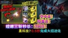 世界第一:螳螂三斩秒杀 隔兵W 100%命中技巧