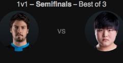 2016英全明星赛1v1模式半决赛 xPeke vs Uzi