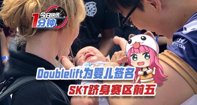 今日快讯:Doublelift为婴儿签名,SKT跻身赛区前五