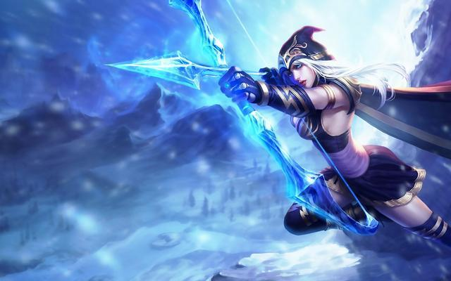 英雄联盟:寒冰双吸流重出江湖,搭配好天赋可以站撸无敌吸血!
