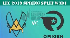 2019LEC春季赛常规赛2月2日比赛回放 VIT VS OG