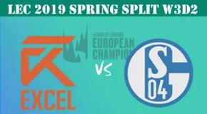 2019LEC春季赛常规赛2月3日比赛回放 XL VS S04