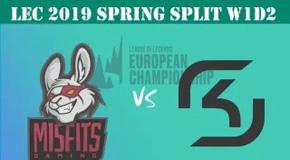 2019LEC春季赛常规赛1月20日比赛回放 MSF VS SK