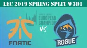 2019LEC春季赛常规赛2月2日比赛回放 FNC VS RGE