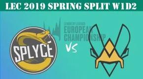 2019LEC春季赛常规赛1月20日比赛回放 SPY VS VIT