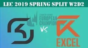 2019LEC春季赛常规赛1月27日比赛回放 SK VS XL