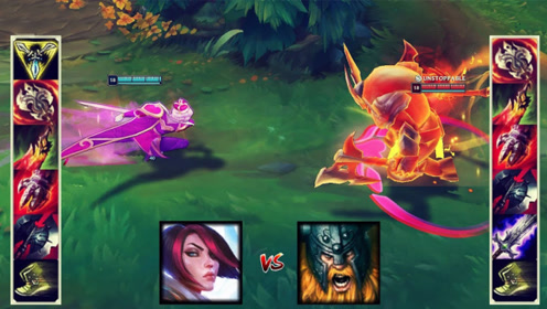 LOL谁才是最强战士?剑姬和奥拉夫你看好谁?