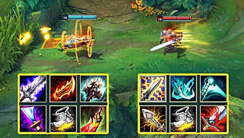 LOL特效流剑圣VS暴击流剑圣,易大师的剑有多快?