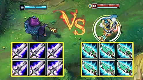 LOL:破败武器VS科技枪武器,我赌武器赢了