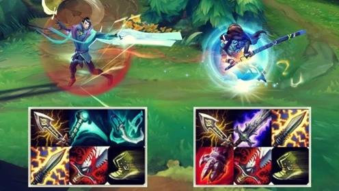 LOL新英雄厄斐琉斯VS亚索,五种武器的男人到底强不强?
