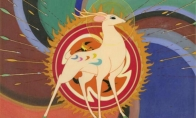看《九色鹿》长大的孩子们,用岩彩画绘制了LOL国风动画