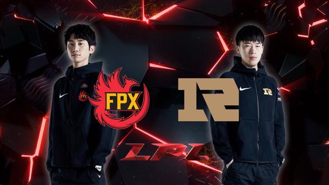 2020LPL职业联赛春季赛 RNG vs FPX 第二场