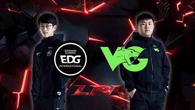 2020LPL职业联赛春季赛 EDG vs VG 第一场