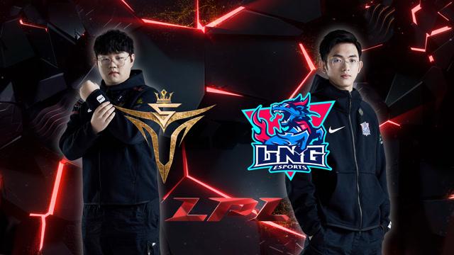 2020LPL职业联赛春季赛 V5 vs LNG 第三场