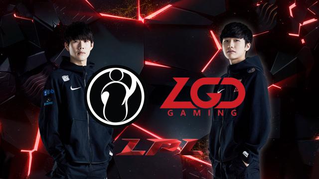 2020LPL职业联赛春季赛 IG vs LGD 第一场