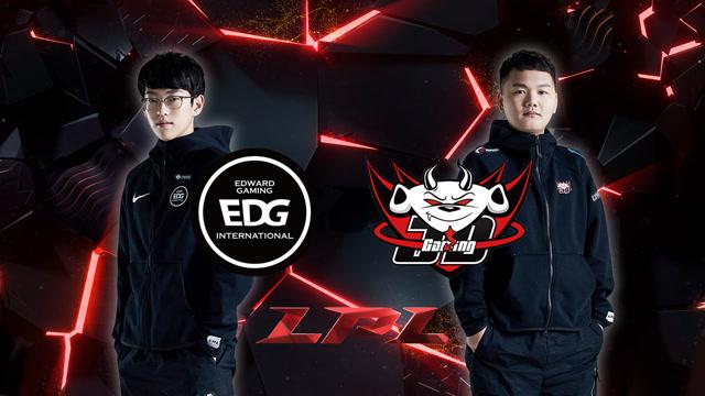 2020LPL职业联赛春季赛 EDG vs JDG 第一场