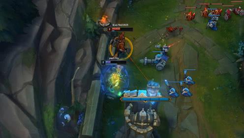 LOL:狼人:盾破的时候,你的游戏就结束了,青钢影:我王者白上的?