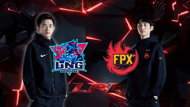 2020LPL职业联赛春季赛 LNG vs FPX 第二场