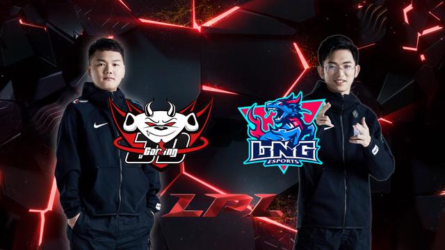 2020LPL职业联赛春季赛 JDG vs LNG 第二场