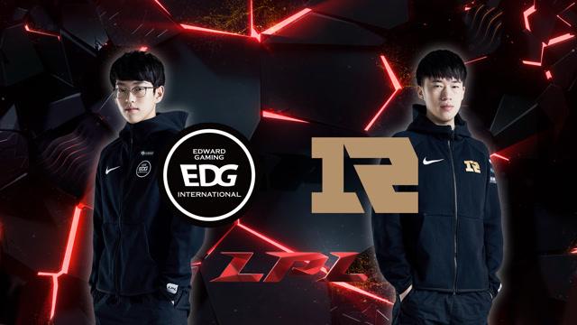 2020LPL职业联赛春季赛 EDG vs RNG 第三场