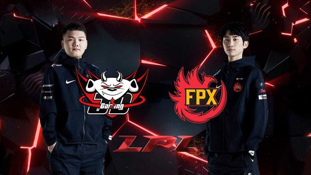 2020LPL职业联赛春季赛 JDG vs FPX 第二场