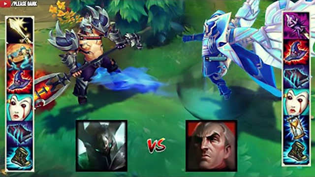 LOL:神装铁男vs神装斯维因,哪个英雄更强?