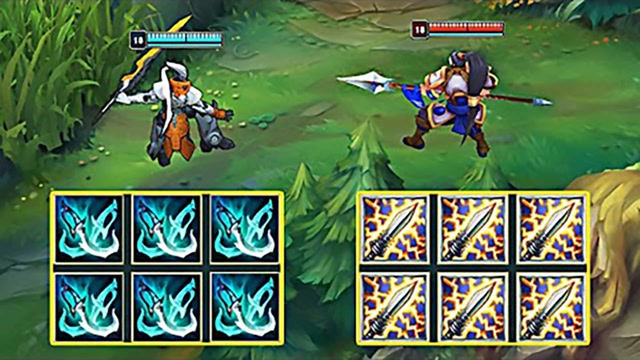 LOL:攻速剑圣vs攻速赵信,哪个英雄更强?