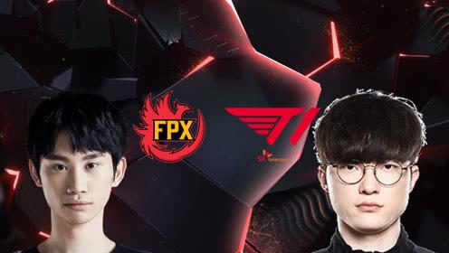 赛事速看:Faker果断开团FPX毫无招架之力FPXvsT1