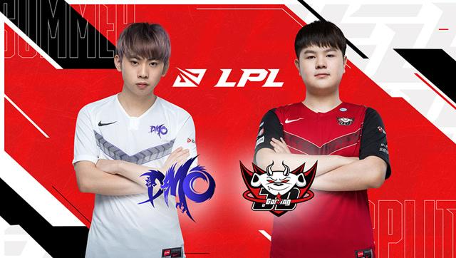2020年LPL夏季赛常规赛 DMO vs JDG 第二场