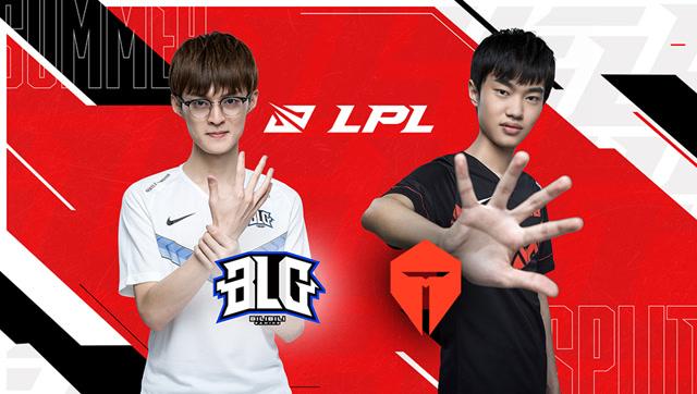 2020年LPL夏季赛常规赛 BLG vs TES 第二场