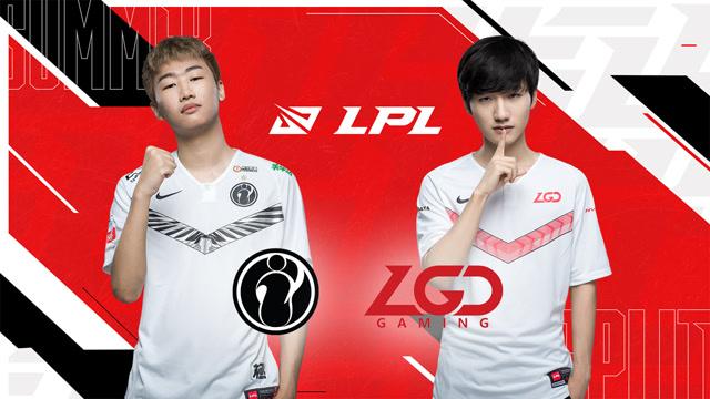 2020LPL夏季赛季后赛 IG vs LGD 第二场
