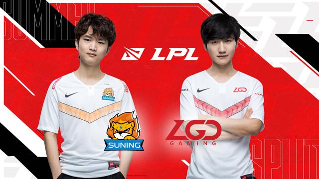S10全球总决赛LPL赛区冒泡赛 SN vs LGD 第一场