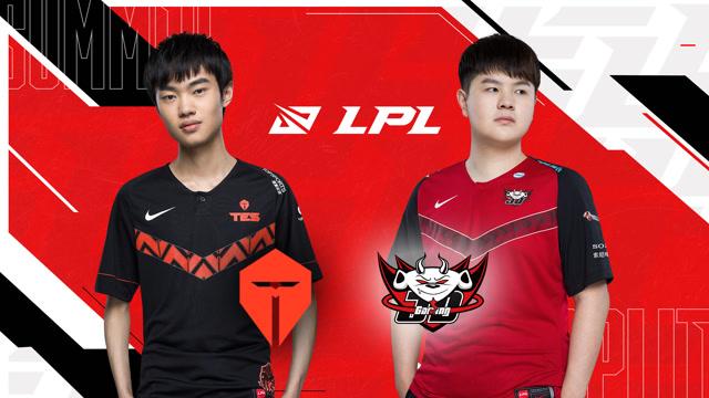 2020LPL夏季赛决赛 TES vs JDG 第三场