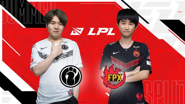 S10全球总决赛LPL赛区冒泡赛 iG vs FPX 第一场