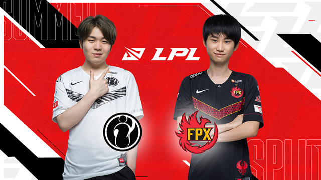 S10全球总决赛LPL赛区冒泡赛 iG vs FPX 第五场