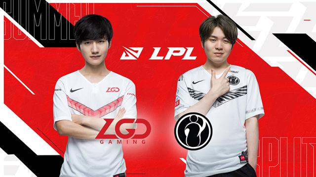 S10全球总决赛LPL赛区冒泡赛 LGD vs iG 第三场