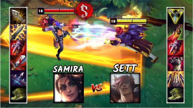 神装莎弥拉VS神装腕豪 哪个英雄更强?